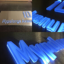 Stainless Steel LED Light Box with 3D High-End Signage
