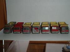 A JOB LOT OF 7 MATCHBOX GRITTING TRUCKS VINTAGE SPARES REPAIRS GO DOWN 4 PHOTOS