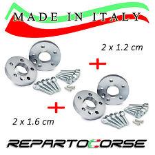 KIT 4 DISTANZIALI 12+16mm REPARTOCORSE BMW SERIE 3 E90 E91 E92 E93 MADE IN ITALY