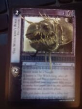 Lord of Rings CCG Black Rider 12U184 The Witch-King's Beast Fell Creature LOTR
