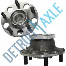 Pair (2) New REAR ABS Complete Wheel Hub and Bearing Assembly for Honda Accord