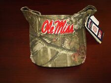 OLE MISS REBELS MISSISSIPPI  CAMO OC SCRIPT  HAT CAP ADJUSTABLE STRAPBACK VISOR