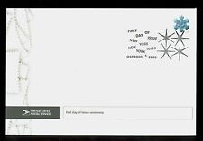USA #4103 2006 39c Snowflake Stamp First Day Ceremony Program