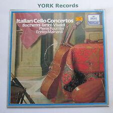 2547 046 - ITALIAN CELLO CONCERTOS - Boccherini / Vivaldi - Ex Con LP Record