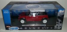 1:18 Scale Welly New Mini Cooper - Red with White Roof