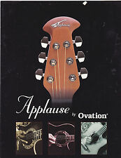 #MISC-0324 - 1998 OVATION APPLAUSE GUITARS musical instrument catalog