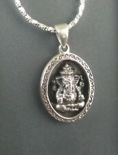 925 Sterling silver Ganesha Pendant - Imported from Thailand