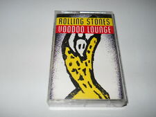 """The Rolling Stones """"Voodoo Lounge"""" Cassette Tape (Virgin Records 1994 USA)"""