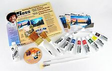 BOB ROSS: PAINTING RURAL AMERICA OIL  COLOR SET W/ 3 PROJECT DVD & METAL EASEL