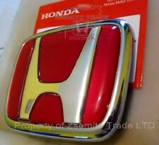 Honda Integra DC2 Type R REAR EMBLEM JDM Red Genuine ITR OEM 75701-ST7-Z00 Badge