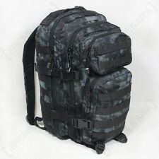 MANDRA Night Camo MOLLE RUCKSACK Assault Small Bag 20L BACKPACK Tactical Pack