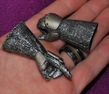 "Knight Glove Hands for 1/6 scale 12"" Action Figure. Hot Toys, Sideshow, Dragon"