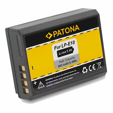 BATTERIA LP-E10 Litio per reflex CANON EOS 1100D 1200D 1300D LP E10 Battery