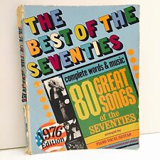Vintage Song Book Best Of The Seventies 70s Piano Vocal Guitar 80 Songs