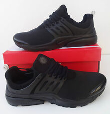 Nike Air Presto Mens Size 8.5 Black Trainers Shoes Shox BRAND NEW