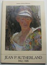 BARGAIN JEAN P SUTHERLAND CATALOGUE 1902-1978 AS NEW 1979