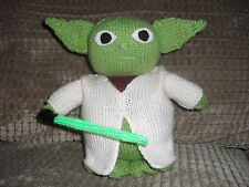 STAR WARS INSPIRED BY YODA **TOY KNITTING PATTERN ONLY ** 8 INS