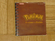 MANUAL DE INSTRUCCIONES POKEMON ROJO / AZUL / AMARILLO ESPAÑOL NINTENDO GAME BOY