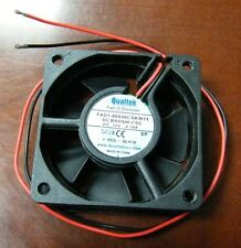 Lot 180 12VDC QUALTEK COOLING FAN FAD1-06020CSKW11 Must See! Save $$$