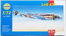 SMER LeO 451, französischer Bomber, Bausatz 1:72
