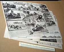 Land Battleships of the French Army in 1940 Vintage Modern Wonders V6 #138
