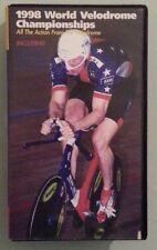 1998 WORLD VELODROME CHAMPIONSHIPS    VHS VIDEOTAPE