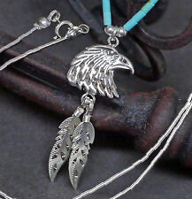 """ Wabun "" authentic navajo Collier 925 Sterling spirituelle Energie Seinadler"