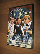 Remedy for Riches (DVD, 2004)