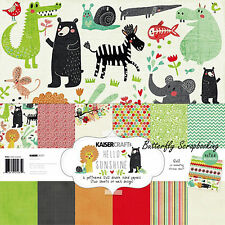Hello Sunshine Collection 12X12 Scrapbooking Kit Kaisercraft Paper Crafting NEW