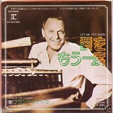 "MINT 7"" JAPAN FRANK SINATRA LET ME TRY AGAIN PAUL ANKA JOHNNY HALLYDAY SONG"