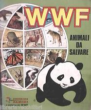 ALBUM FIGURINE PANINI WWF Animali da salvare Collezioni per Ragazzi Fauna di e