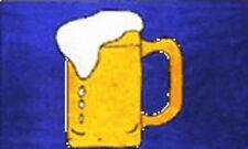 BEER FLAG 5' x 3' Party Pub Club Germany Bavaria Festival German Oktoberfest Bar