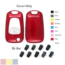 Paint Metallic Color Shell Cover Holder fit for HYUNDAI KIA Remote Key 3 BTN RD