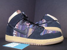 Nike Dunk High Premium SB HACKY SACK MULTI-COLOR BLACK GUM BROWN 313171-902 9.5