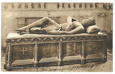 Gloucester Cathedral, England vintage Postcard - Robert, Duke of Normandy Tomb