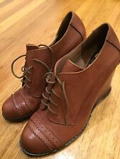 Vince Camuto Boots Leather Shoes Size 7 Brand New Bnwot Rrp $299