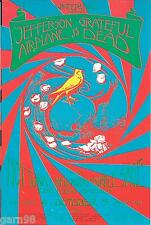 DEAD Tuna AIRPLANE  Night Janis Joplin  Died Concert Handbill Winterland 1970 SF