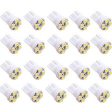 20x 4 SMD LED Xenon White T10 501 W5W Car Side Wedge Interior Light Lamp Bulb LW
