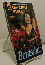 Borderline by Lawrence Block - Advance Review Copy
