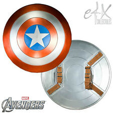 eFx Marvel Avengers Captain America Shield 1:1 Movie Prop Replica In Stock