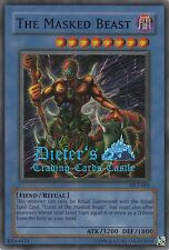 YU-GI-OH, THE MASKED BEAST, SR, DL2-001, TOP - Super selten