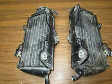 CR 125 HONDA 1984 CR 125R 1984 RADIATORS