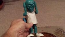 Dr. Shriek Motorized Monster Original WALKING 1960 BLUE SUPERPLASTIC Topper toy