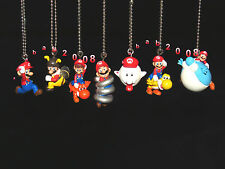 Takara Tomy Super Mario Galaxy 2 keychain gashapon figure. ( Full set 7 Pcs )