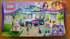 LEGO FRIENDS 41056 Le camion TV de Heartlake City ( boite abîmée )