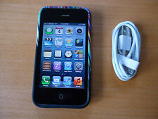 Iphone 3GS 8GB factory unlocked phone AT&T T-mobile Smartphone (MC640LL/A)