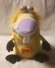 "ANGRY BEAVERS 10"" Plush Stuffed Toy Doll MATTEL 1998 Pull Cord & Chomping Mouth"
