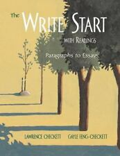 The Write Start with Readings: Paragraphs to Essays