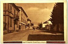Cartolina Formato Piccolo - Gattinara - Corso Carlo Alberto Non Viaggiata