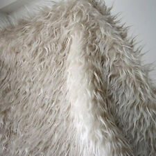 Wheat, Mongolian Curly Sheep Faux Fur Fabric,newborn photography props. BTY